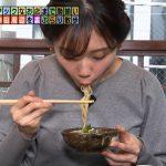 【 画像・GIF】テレビ東京「モヤモヤさまぁ~ず2」の田中瞳アナウンサー、おそば食べてアイドルポーズやってめっちゃカワ∃😍😍😍😍😍