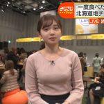 【画像】テレビ東京 「よじごじDAYS」で女性アナウンサー・田中瞳さんのエッチなおっぱい😍😍😍😍😍