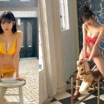 【画像・GIF】NMB48・横野すみれさんのやわらかそーな水着おっぱい😍👙😍👙😍👙😍👙😍👙