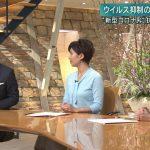 【画像】テレビ朝日「報道ステーション」で女子アナ・森川夕貴さんのブラックおっぱい😍😍😍😍😍