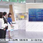【画像】テレビ東京「ニュースモーニングサテライト」の角谷暁子さん、青のニットおっぱいが凄いデカ∃😍😍😍😍😍😍