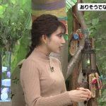 【画像】MBS女性アナウンサー・野嶋紗己子さんのニットおっぱいの膨らみがエロ∃😍😍😍😍😍😍