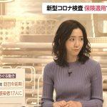 【画像】フジテレビ「FNN Live News α」内田嶺衣奈さんの視線を奪われてしまうおっぱいの膨らみ😍😍😍😍😍