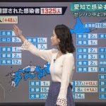 【画像・GIF】テレビ朝日「報道ステーション」で女性アナウンサー・森川夕貴さんのぷっくりおっぱいがプルンプルン😍😍😍😍😍😍😍