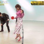 【画像・GIF】テレビ東京「FOOT×BRAIN」で女子アナ・鷲見玲奈さんの大きなおっぱいがプルンプルン😍⚽😍⚽😍⚽😍⚽😍⚽