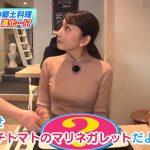 【画像】MBS女性アナウンサー・野嶋紗己子さん、「ちちんぷいぷい」でノルマンディーなニットおっぱい😍😍😍😍😍😍