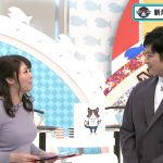 【画像】tvk「猫のひたいほどワイド」の女子アナ・岡村帆奈美さん 、ボールが入ってるみたいなデカすぎおっぱい😍😍😍😍😍