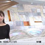【画像】テレビ東京「モーニングサテライト」で角谷暁子さんのスケ感がエッチなニットおっぱい😍😍😍😍😍😍