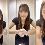 【画像・動画】セントフォース・鷲見玲奈さんの「手洗いチャレンジ」でおっぱい…じゃなくて手を清潔に保とう😍🤲🏻✨