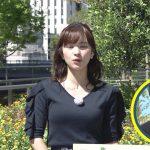 【画像】日本テレビ「シューイチ」で女性アナウンサー・河出奈都美さんの着衣おっぱいがグイッと😍😍😍😍😍