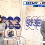 【画像】TBS「S☆1」で女性アナウンサー・上村彩子さんのニットおっぱいがエロ目立ち😍😍😍😍😍😍😍