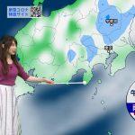【画像】気象予報士・國本未華さんの目立つおっぱいの膨らみがエロ∃😍😍😍😍😍