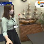 【画像・GIF】テレビ東京『ワールドビジネスサテライト』で森香澄さんのニットおっぱいがエッッッッッ😍😍😍😍😍😍😍