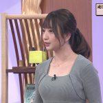 【画像】タレント・羽田優里奈さんのニットおっぱいの膨らみ😍😍😍😍😍😍😍😍😍😍